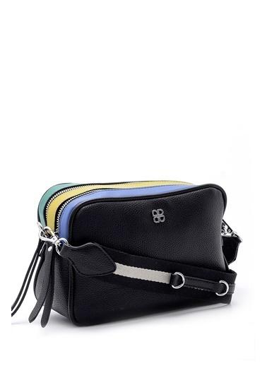 Derimod Messenger / Askılı Çanta Siyah